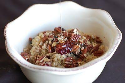 warm & nutty cinnamon quinoa | Food and Drink | Pinterest