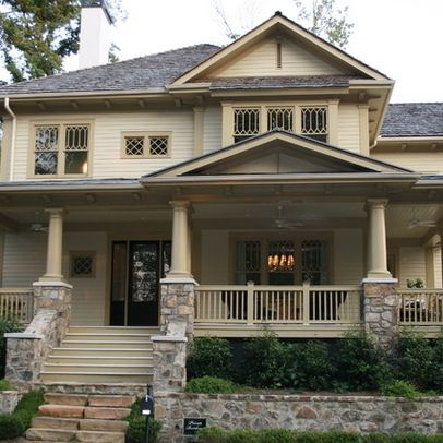 Exterior Columns Stone For The Home Pinterest