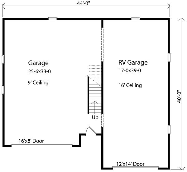 Rv Garage Plan