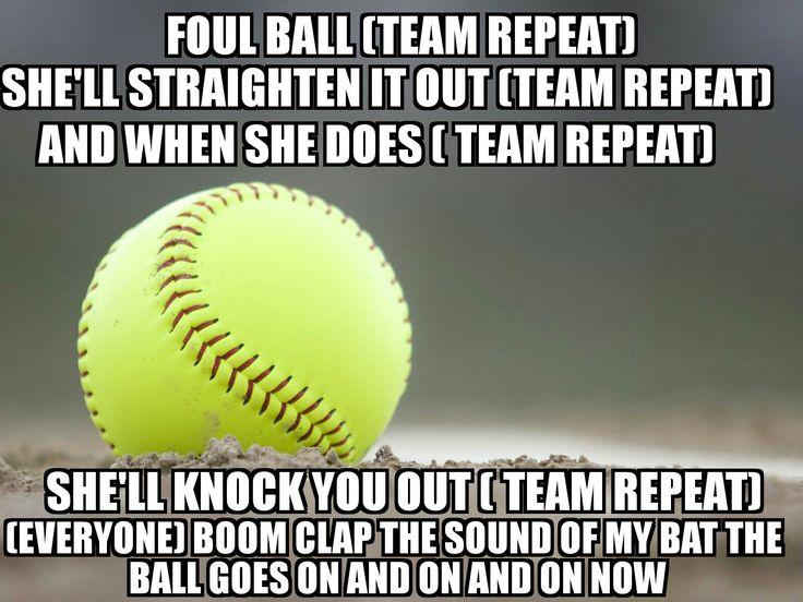 Softball sayings for girls