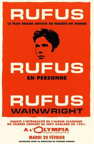 Rufus @ La Cigale on May 2