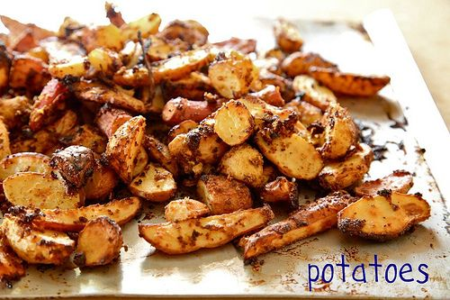 Mustard Roasted New Potatoes | Cooking | Pinterest