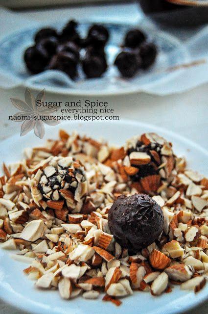 Homemade truffles | Cook Me Crazy | Pinterest