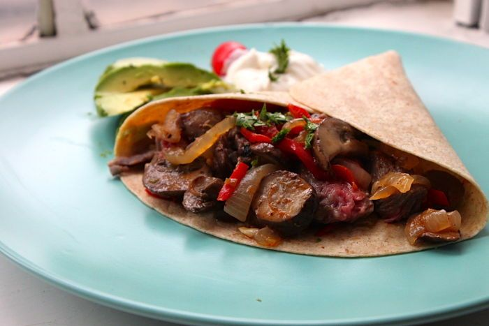 skirt steak fajitas | Recipes - Main | Pinterest