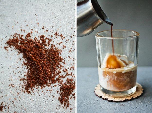 Mascarpone Ice Cream + espresso. | totally sinful | Pinterest
