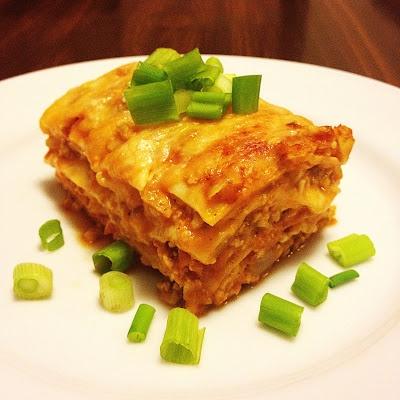 Tex Mex Lasagna | dinner | Pinterest
