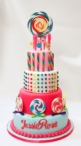 Candy Theme Cake