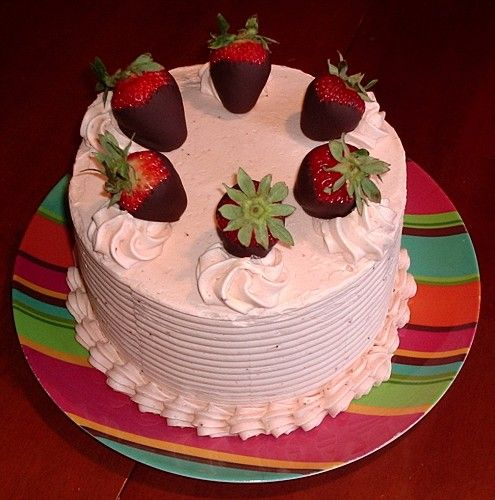 ... ll pay you in slices of leftover strawberry buttercream birthday cake