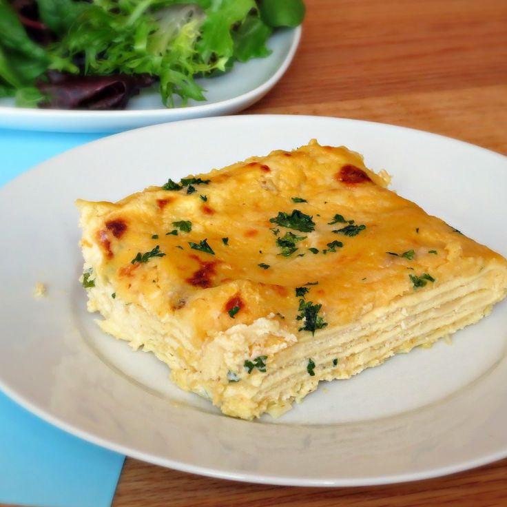 Four Cheese Lasagna | Recipe