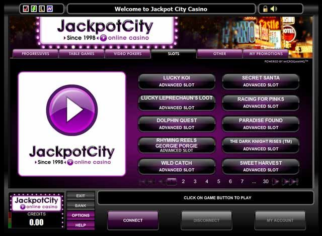 jackpotcity online flash casino no deposit