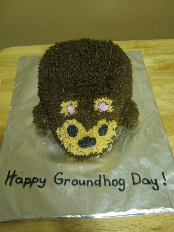 Groundhog Cake | Cakes | Pinterest