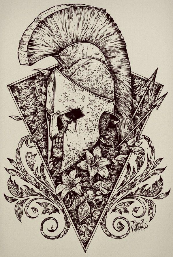 Gladiator by TimurKhabirov | Drawings / Sketchs | Pinterest