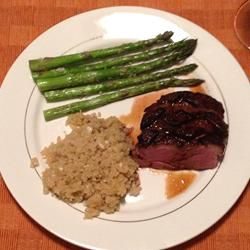 Duck with Honey, Soy, and Ginger Allrecipes.com