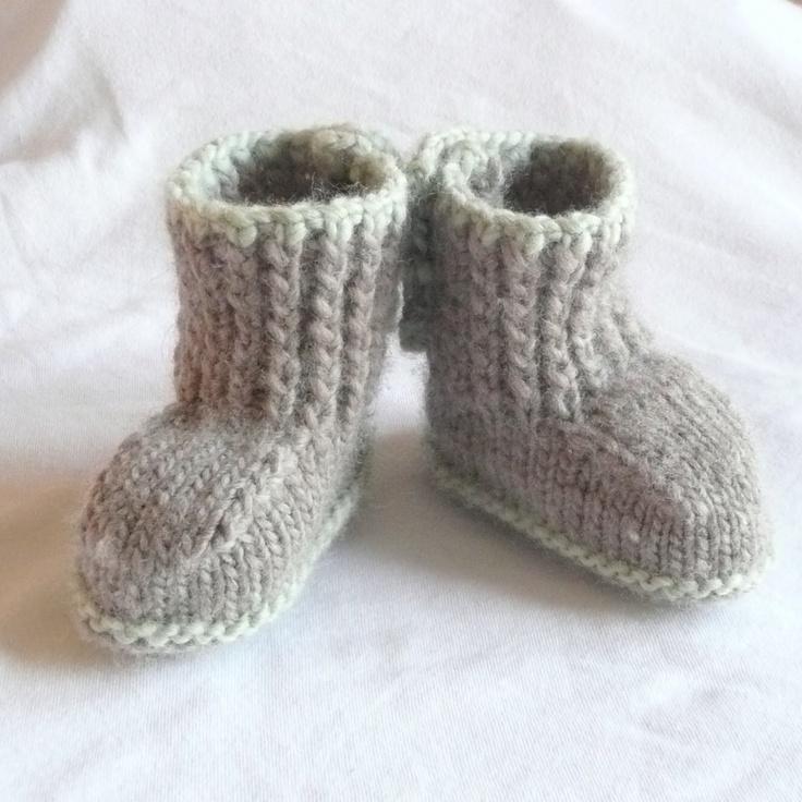 Seamless Baby Booties Knit Pattern Free