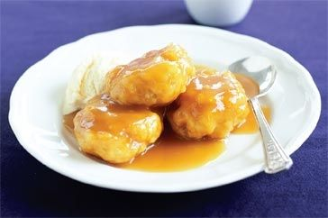 ... too, these dumplings are a dessert delight any day of the week