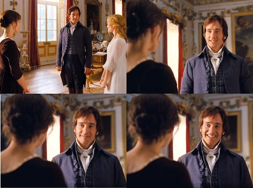 mr. darcy--he actually smiles.