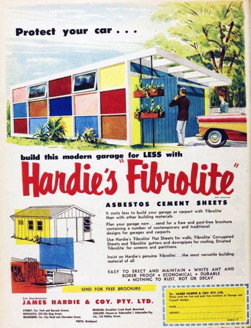 Mid century modern illustration for Garage ad agde
