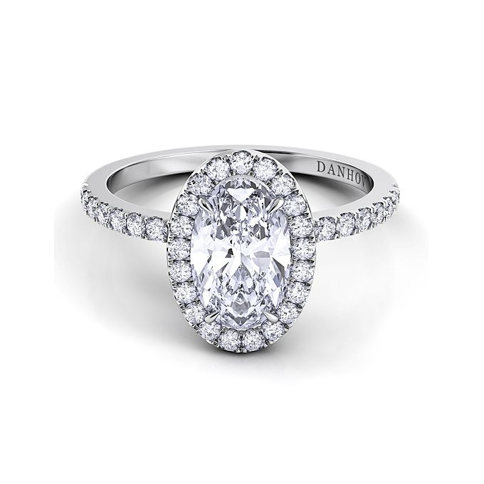 wedding bands for oval engagement ring hd image - Oval Wedding Ring