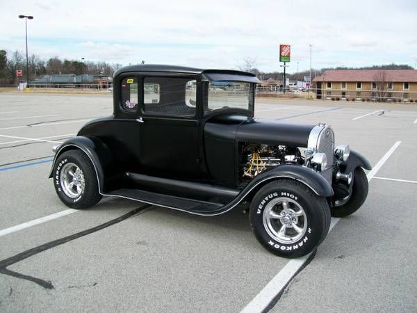 1929 model a ford 5 window coupe radar love pinterest