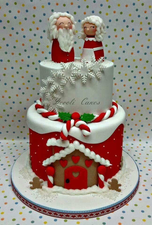 Beautiful Christmas Cake Images : Beautiful Christmas cake Most wonderful time of the year ...
