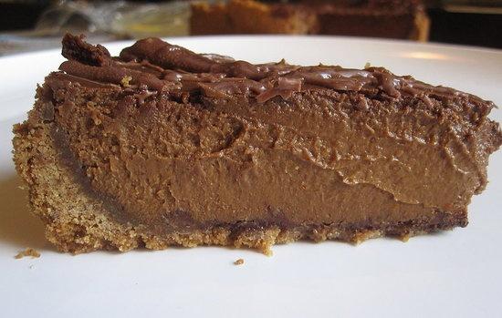 Triple-Chocolate Pumpkin Pie | Recipe