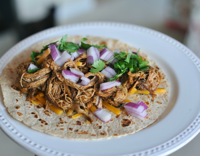 Easy Lean Shredded Pork Tacos | Favorite Recipes | Pinterest