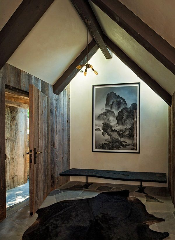Cool rustic entry
