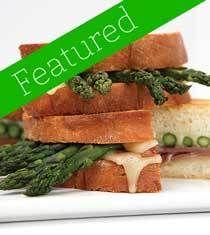 Asparagus Grilled Cheese Sandwich Recipe | Foodie Goodies - Sandwiche ...