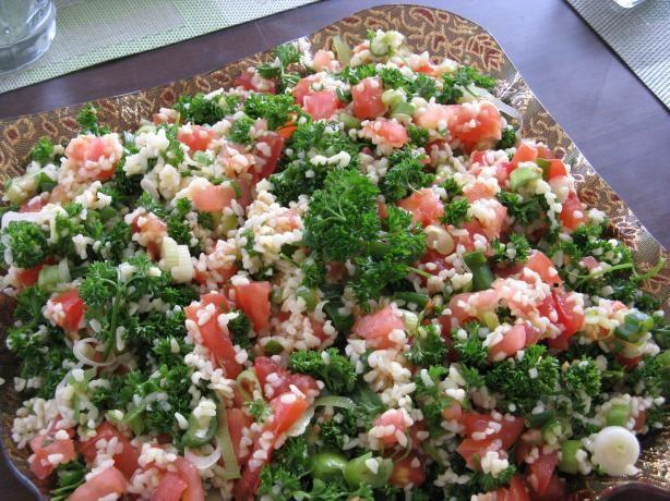 Tabbouli / Tabouli / Tabbouleh Salad (Parsley Salad) | Recipe