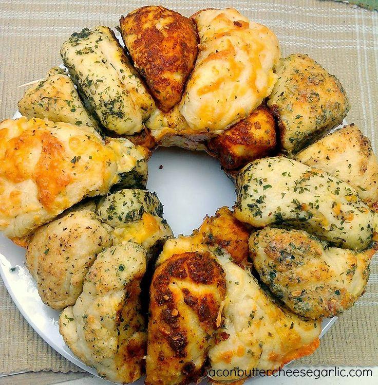 Savory Monkey Bread | Breads: Sweet & Savory | Pinterest