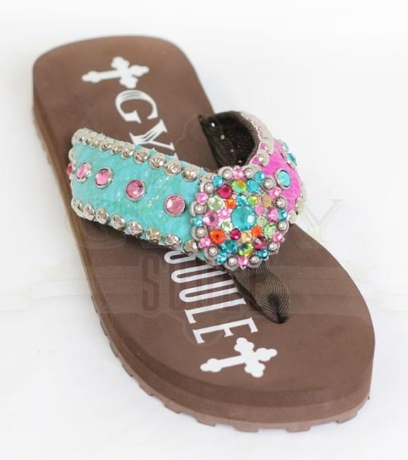 Gypsy Soule flip flops