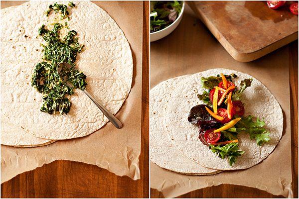 Garden Veggie Wrap | Eat Your Veggies | Pinterest