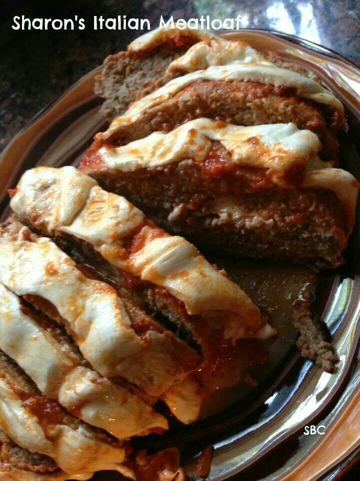 Italian meatloaf | Recipes and Favorite Foods | Pinterest