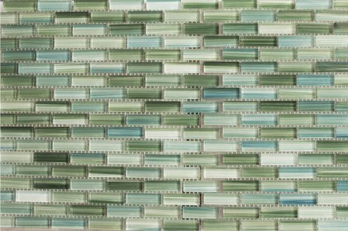 painted glass subway mosaic tile kitchen backsplash bathroom ebay