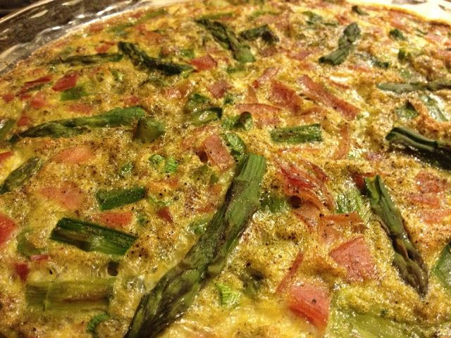 Asparagus and Ham Crustless Quiche | fastPaleo Primal and Paleo Diet ...