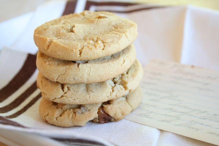 Refrigerator Butterscotch Cookies | Refrigerator Cookies | Pinterest