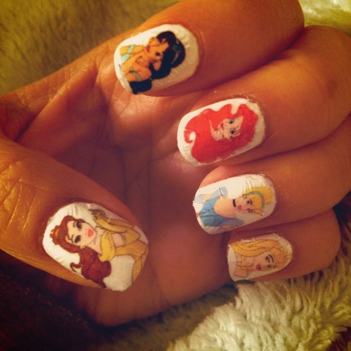 Princess Nail Art: Pinterest: Discover And Save Creative Ideas
