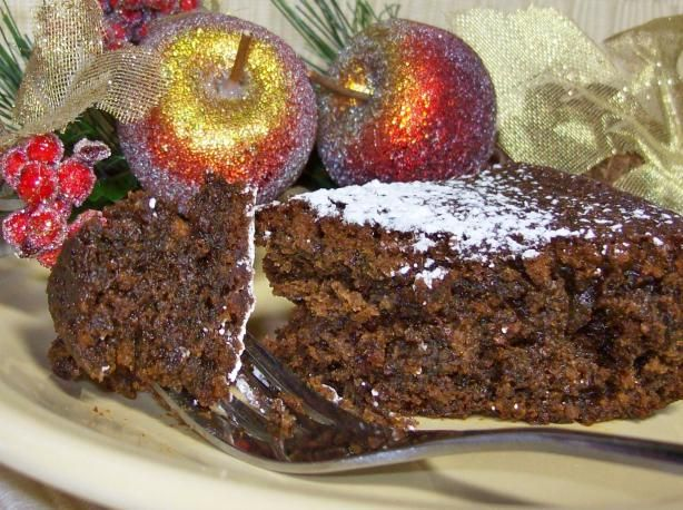 Dark Molasses Gingerbread Cake - DO not make this with black strap ...