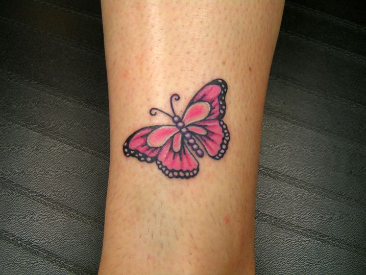 pink ribbon butterfly tattoo a r t pinterest. Black Bedroom Furniture Sets. Home Design Ideas