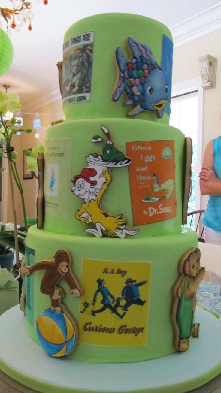 Baby Shower Cakes Sheffield ~ A storybook baby shower cake food pinterest