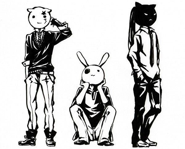 Masks Allen Lavi Kanda | anime mania | Pinterest