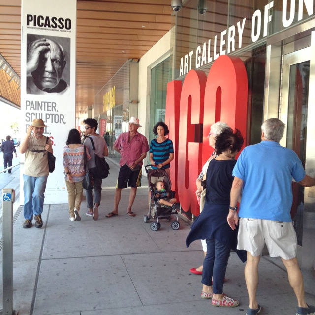 Last days of Picasso exhibit at Art Gallery of Ontario