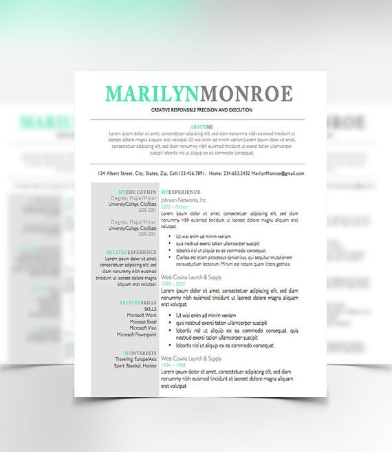 Teacher resume template microsoft word maxwellsz