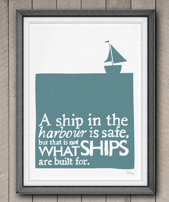 safe sailing.