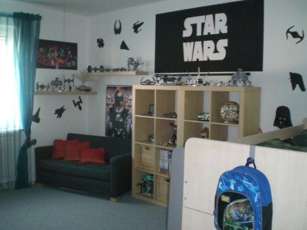 star wars kinderzimmer ideen kids room ideas pinterest. Black Bedroom Furniture Sets. Home Design Ideas