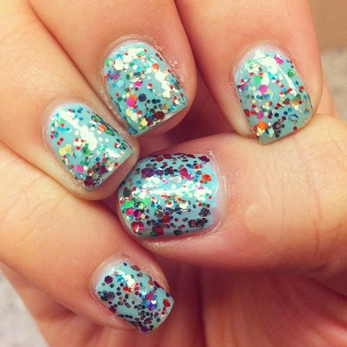 confetti-nails