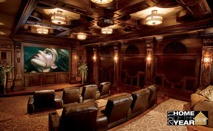 Luxury Home Theater Home Theater Pinterest