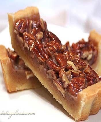 Honey Maple Pecan Tart | sweets | Pinterest