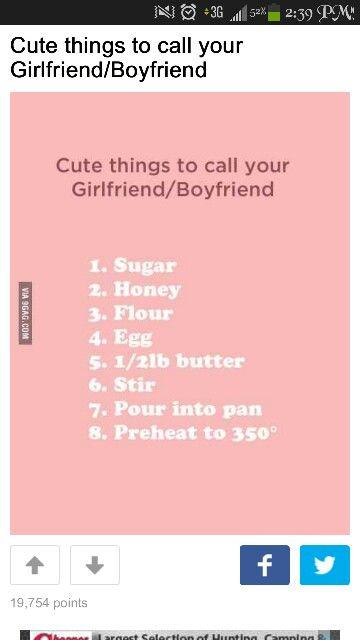 #cute #nicknames #boyfriend #girlfriend #funny # ...