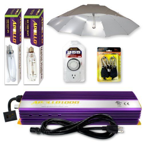 and metal halide mh and high pressure sodium hps hid grow light. Black Bedroom Furniture Sets. Home Design Ideas